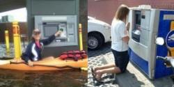 Những hình ảnh khó gặp tại cây ATM