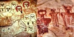 Người cổ đại phác họa người ngoài hành tinh như thế nào?