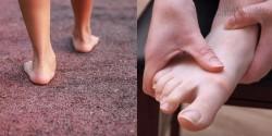 Tưởng bàn chân này số sướng, hóa ra rước bệnh vào thân