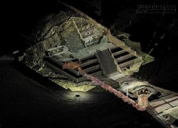 Bí ẩn con sông thủy ngân dưới kim tự tháp người Maya