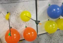 Điều gì đã xảy ra: Quả bóng bay bị trúng tên mà không nổ