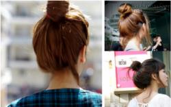 2 cách búi tóc phồng vừa đẹp vừa dễ cho bạn gái xinh xắn quyến rũ