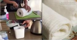 Bí kíp làm khăn giấy ướt tiện dụng mà lại siêu tiết kiệm