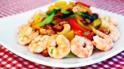 Hướng dẫn nấu tôm xào hạt điều phong cách Tây Âu giúp tăng chiều cao