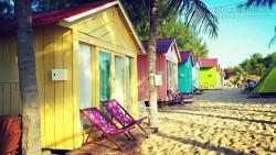 Beach Huts – Những ngôi nhà đầy màu sắc ở Coco BeachCamp