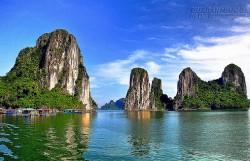 7 hòn đảo mọc giữa vịnh Hạ Long thu hút du khách