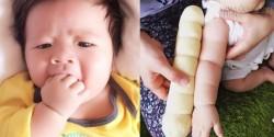 Trào lưu khoe tay con như ổ bánh mì của các bà mẹ Nhật
