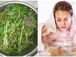 Da trắng mịn gấp 100 lần đi spa, khi xông mặt với các loại lá sau
