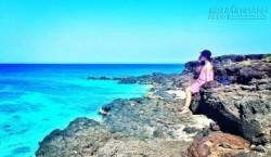 Khám phá vẻ đẹp quên lối về ở đảo Bé Lý Sơn