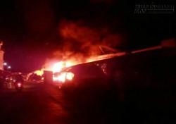 Trung tâm thương mại cháy nửa đêm, thiệt hại trên 5 tỷ đồng