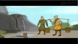 Câu chuyện gánh nước và bài học về cách sống khôn ngoan