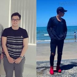 Giảm 20kg trong 5 tháng, anh chàng 19 tuổi gây sốt với ngoại hình hot boy