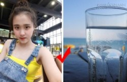 Nữ sinh dân tộc Mường và bí quyết giảm cân với 3 lít nước