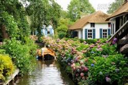 Ngôi làng không có đường đi ở Hà Lan
