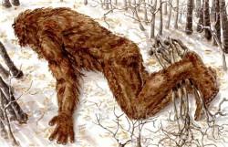 Phát hiện dấu vết của Bigfoot sau trận động đất khủng khiếp?