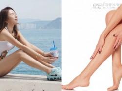 Gọt sạch mỡ thừa ở bắp đùi và bắp chân thật đơn giản để có chân thon dài miên man