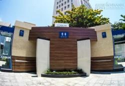 Cận cảnh nhà vệ sinh 1 tỷ đồng miễn phí ở Đà Nẵng