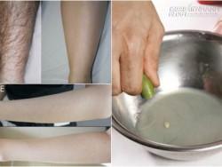 3 cách sử dụng nước cốt chanh để triệt lông vĩnh viễn không đau, không rát