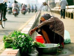 Chữ Tín của bà cụ bán rau