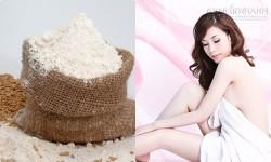 Gạo nếp - công thức tắm trắng mà bạn chưa biết