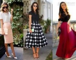 Gợi ý mặc đẹp với những 5 kiểu chân váy được ưa chuộng nhất 2016