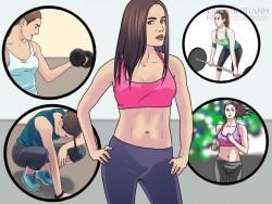 Hàng triệu cô gái trở thành hot girl nhờ động tác này. Đây mới chính là chân lý của tập gym!