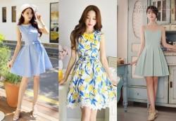 10 mẫu đầm xinh hợp mọi dáng người cho bạn gái tự tin xuống phố