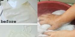 Ngâm dung dịch này 15 phút, quần áo cháo lòng chuyển thành trắng tinh không cần thuốc tẩy độc hại
