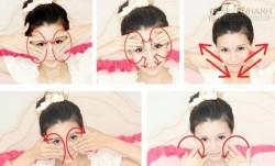 Học cách massage mặt giúp trẻ ra 10 tuổi của người Nhật