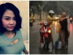 Cô gái mặc áo mưa cho bà cụ: Không quan tâm bình luận ác ý