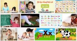Phương pháp dạy trẻ học chữ cái tiếng Việt nhanh nhất từ nhỏ
