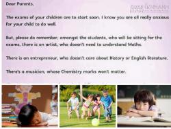 Bức thư của thầy hiệu trưởng Singapore khiến tất cả phụ huynh phải suy ngẫm