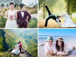 Tự chụp ảnh cưới, bạn có nên?