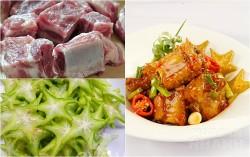 Sườn rim khế: Làm cực dễ, ăn cực ngon cơm