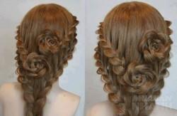 10 bước tạo kiểu tóc tết hoa hồng chỉ trong nháy mắt tha hồ tung tẩy khắp mọi nơi