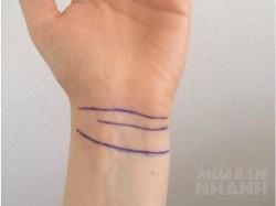 Đường vân cổ tay tiết lộ gì về sức khỏe, tài lộc