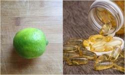 1 viên vitamin E + 1 quả chanh – Bí kíp dưỡng trắng da chỉ trong 15 phút xóa mờ mọi vết thâm
