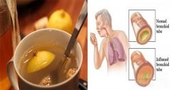 Mẹo quét sạch đờm, thanh lý cảm cúm nhờ nước uống chế từ 3 nguyên liệu tự nhiên
