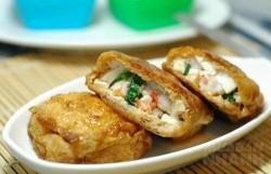 Ăn ngon miệng và tăng chiều cao hiệu quả với món đậu hũ nhồi tôm
