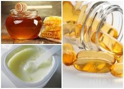 Trộn 2 viên vitamin E với mật ong, da ngăm đen bẩm sinh hay sạm đi vì cháy nắng đều trở nên trắng bóc mịn màng
