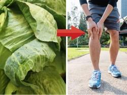 3 cách triệt tiêu cơn đau gout ngay tức thì với lá bắp cải