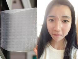 Dùng bánh đa nem đắp mặt nạ theo trào lưu làm đẹp Hàn Quốc, cô gái thích mê kết quả sau đó