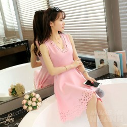 Chỉ với 200 nghìn đồng sắm ngay những mẫu váy xòe màu hồng dễ thương hot nhất hè 2017