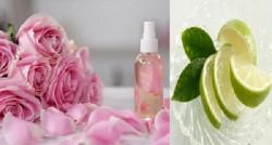 Bỏ túi 3 cách trị mụn đầu đen bằng nước hoa hồng