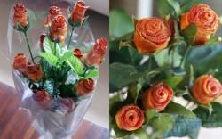 Lạ mắt với món hoa hồng nướng từ thịt ba chỉ - Nhìn mà không nỡ ăn