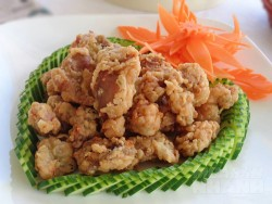 Món ngon mỗi ngày: Mề gà rang muối giòn tan