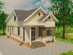Nhà mái Thái gác lửng