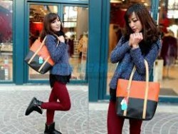 Túi xách 2 màu