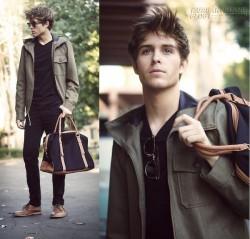 Túi xách công sở nam đẹp cá tính phong cách thời trang mạnh mẽ