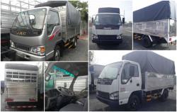 So sánh xe tải jac 2.4 tấn và xe tải isuzu 2.4 tấn